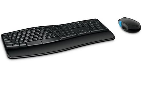 Microsoft Sculpt Comfort Desktop, Standard, Wireless, RF Wireless, QWERTY, Black