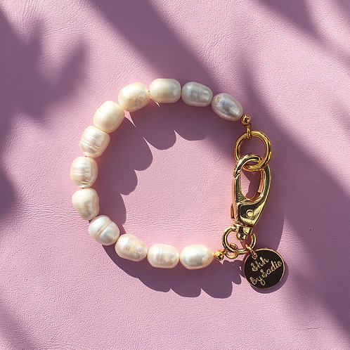 Pearl Hardware Bracelet