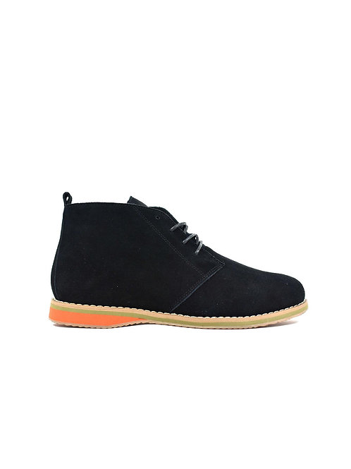 Men's Suede Desert Boot Black