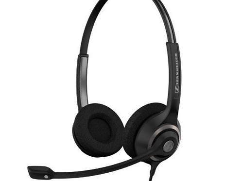 Sennheiser SC 260, Headset, Head-band, Office/Call center, Binaural, 1 m, Wired