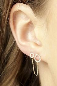 Women's earring liatlate jewelry