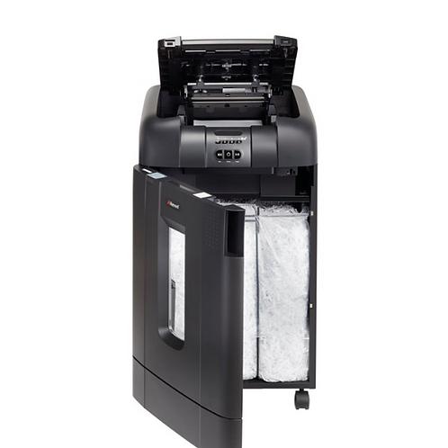 Rexel Auto+ 750X Cross Cut Shredder, Cross shredding, 23 cm, 4 x 40 mm, 115 L, 6