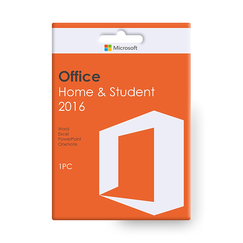 OFFICE 2016 HOME AND STUDENT Permanently valid