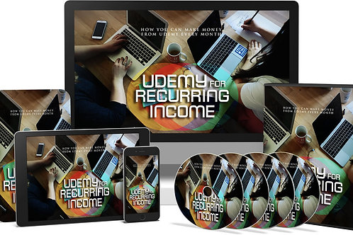 Udemy For Reccuring Income Video Upgrade