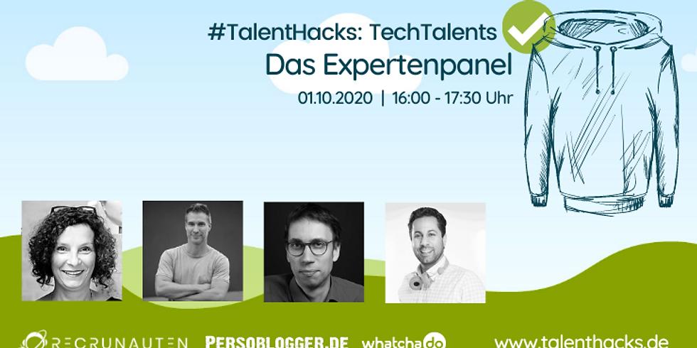 #TalentHacks - TechTalents - Expertenpanel