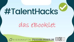 #TalentHacks: Über 60 erfolgreiche Maßnahmen von Arbeitgebern in Corona-Zeiten