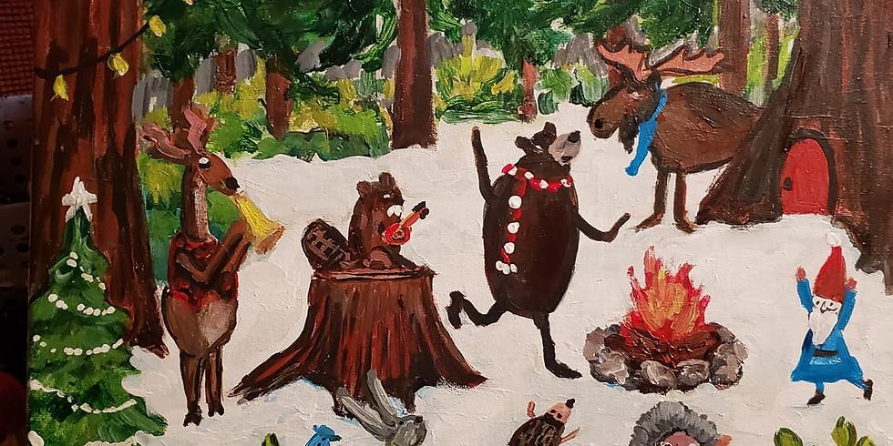 Children's Acrylic Paint Day
