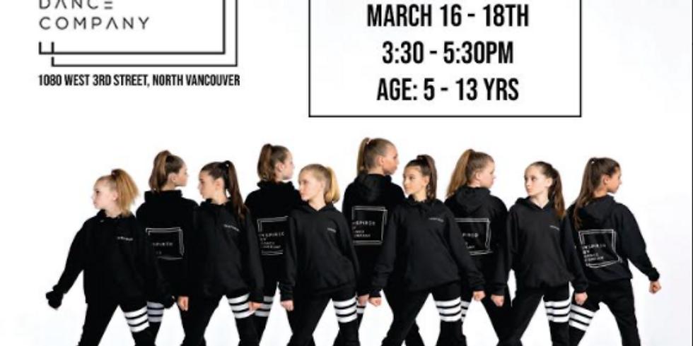 Free Spring Break Dance Camps!