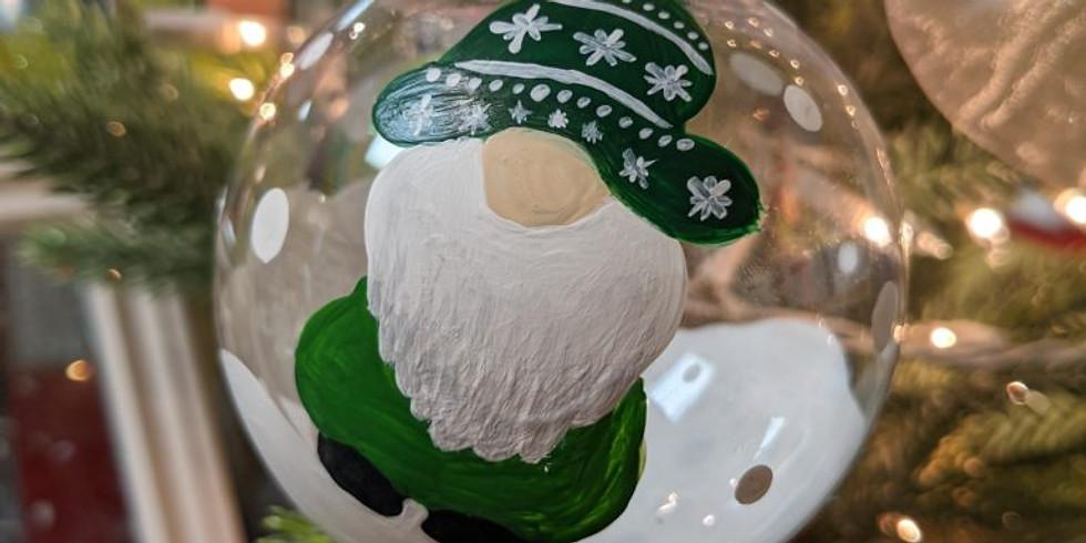 Kids Virtual Gnome Ornament