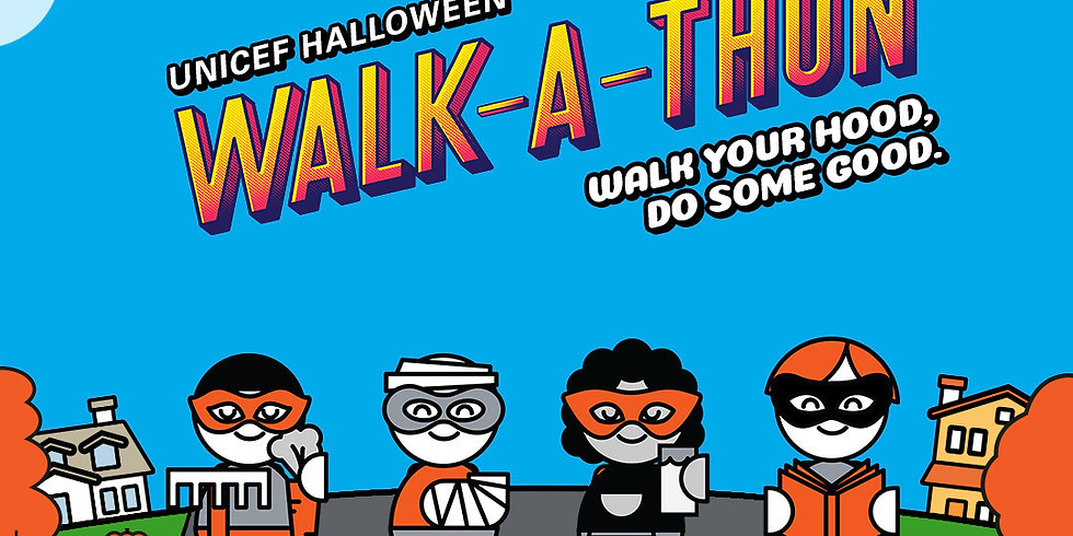 UNICEF Halloween Walk-a-thon  (ongoing event)