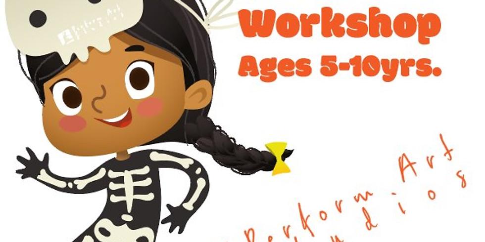 Free Halloween Hip Hop Dance Workshop at the Quay (5-10yr)