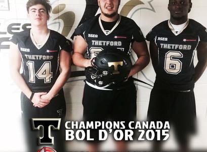 3 Gladiateurs Champions au Canada !