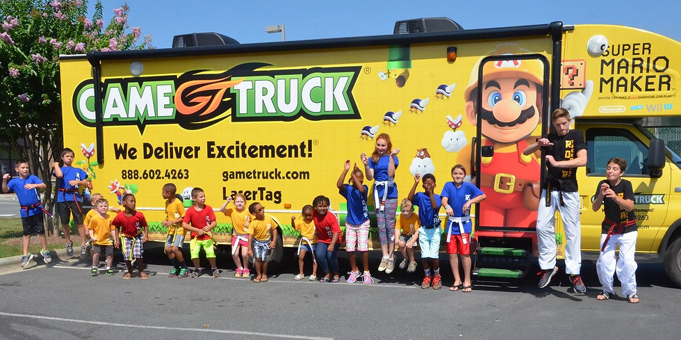 Game Truck Summer Camp