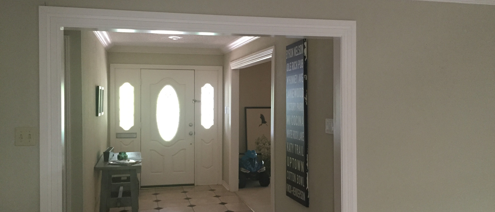 Foyer Before