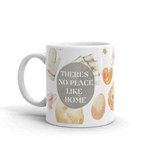 No place like home glossy mug