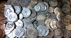 Silver Quarters and Dimes