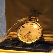 Gold, pocket watch