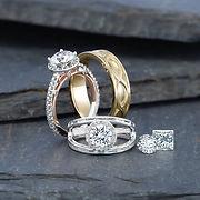 , wedding rings