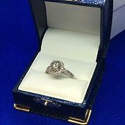 diamond, engagement ring