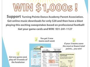Want to win $1,000? Football Mania!