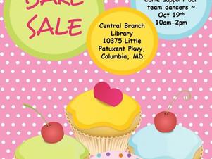 Bake Sale Fundraiser 10/19