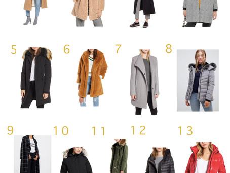 Ela's Gift Guide: Coats
