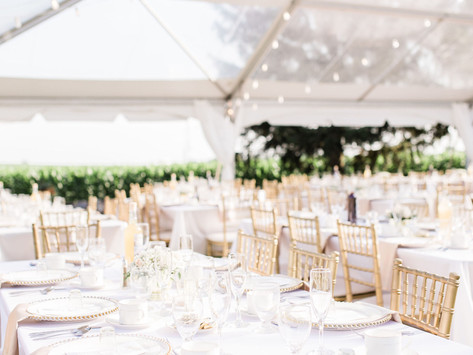 What I Learned From Planning My Own Outdoor Tented Wedding