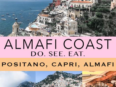 Positano Travel Diaries | Capri, Positano, and Amalfi