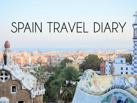 Travel Diaries: Madrid, Valencia, and Barcelona Spain All in ONE Week!