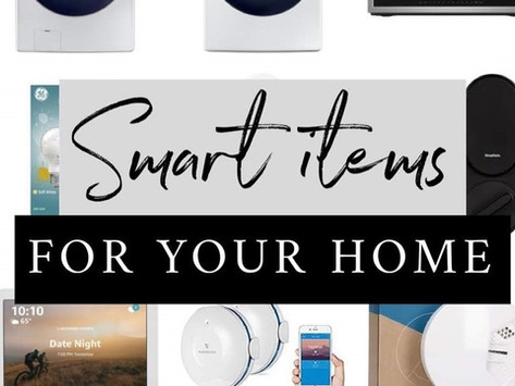 The Most Amazing Smart Items For Your Home