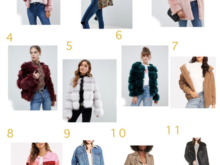 Ela's Gift Guide: Jackets and Furs Edition