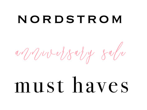 Nordstrom Anniversary Sale Must Haves 2019