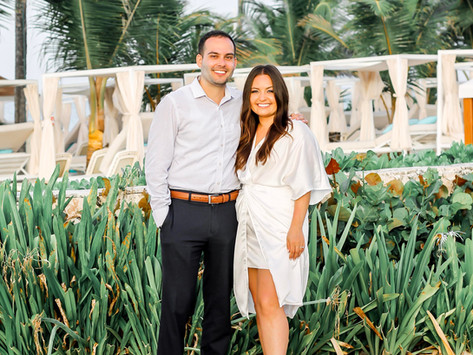 Our Rehearsal Dinner in Punta Cana