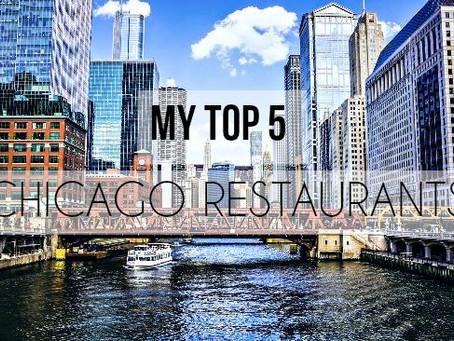 My Top 5 Favorite Restaurants in Chicago