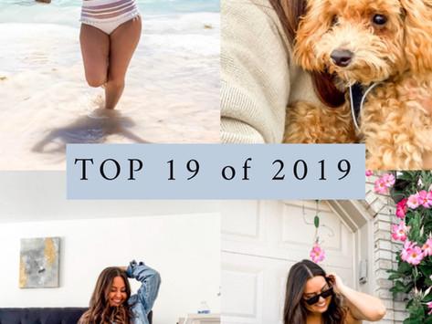 Top 19 of 2019