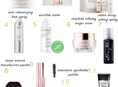Ela's Gift Guide: Makeup and Skincare