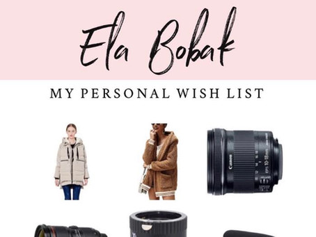 My Personal Holiday Wish List