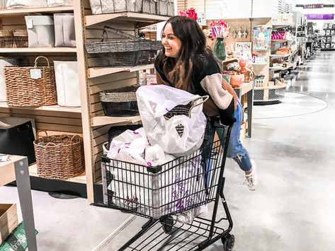 Shopping Trip For Our Future Home!