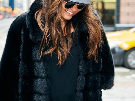 Two of My Favorite Things: Black and Fur