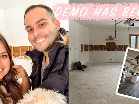 Home Reno Progress + Plans
