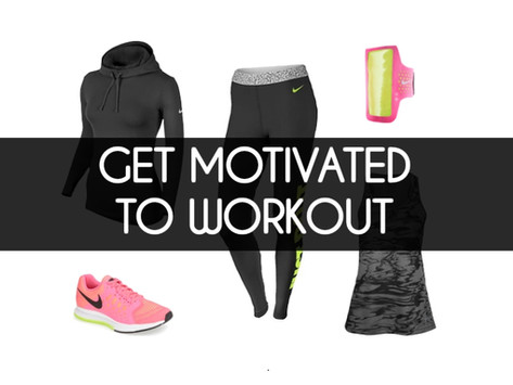 How I Motivate Myself To Workout