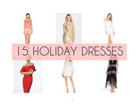 15 Dresses for any Holiday Party
