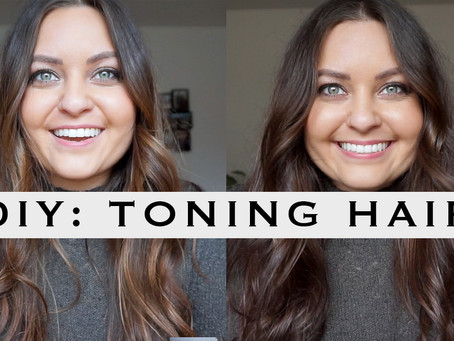 How I Tone My Hair at Home (And Grow Out My Natural Hair Color)