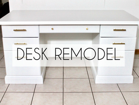 How to Transform a Wooden Desk