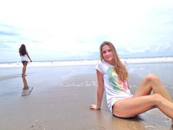 hemp t shirts at the beach
