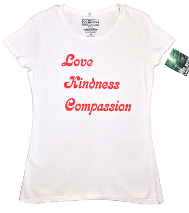 GROOVY LOVE KINDNESS COMPASSION