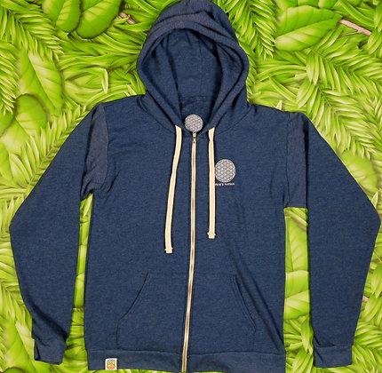 Eco hoodie Blue