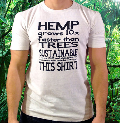 Hemp Grows faster than Trees