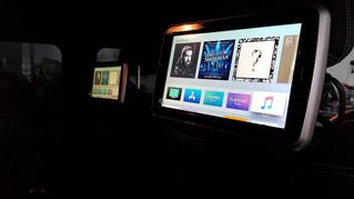 Headrest Apple TV Player installation - on G63 AMG