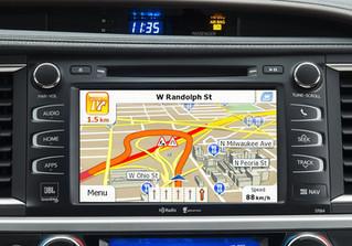 No more Mobile data Navigation - Introducing Sat Navigation for Toyota Kluger